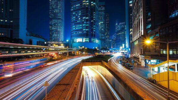 Luces de una ciudad - Sputnik Mundo