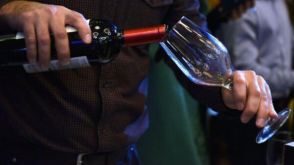 Consumo de vino (imagen referencial) - Sputnik Mundo