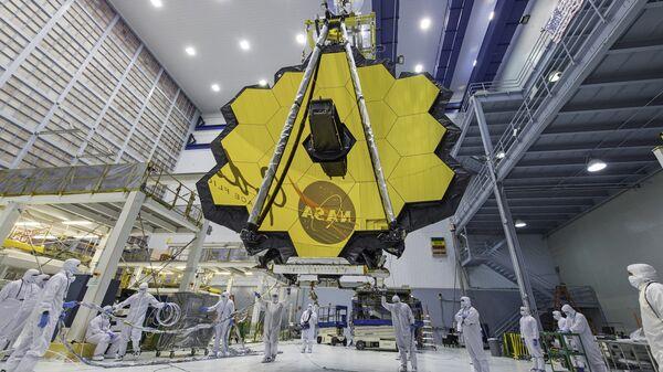 El telescopio espacial James Webb - Sputnik Mundo
