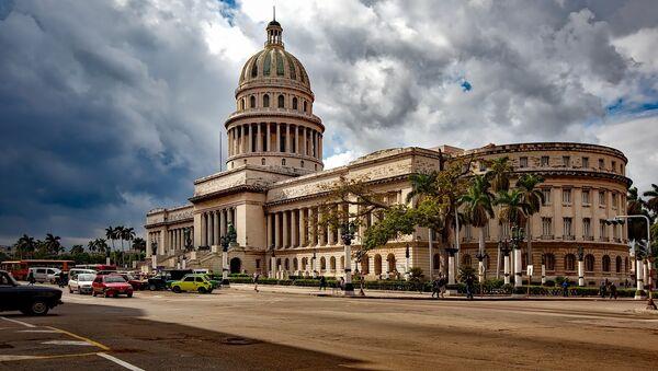 Edificio del Capitolio en La Habana (Cuba) - Sputnik Mundo