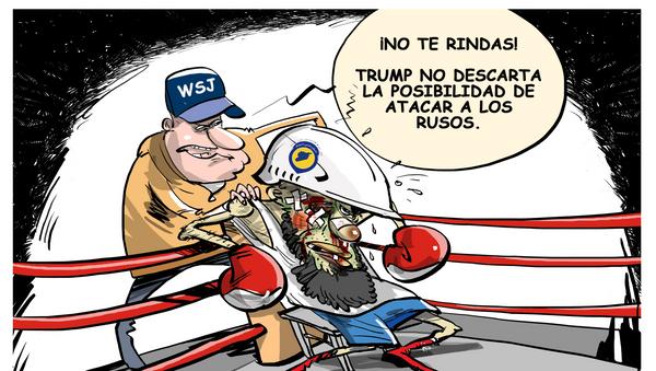 No es hora de tirar la toalla: Trump no descarta un ataque a las fuerzas rusas en Siria - Sputnik Mundo