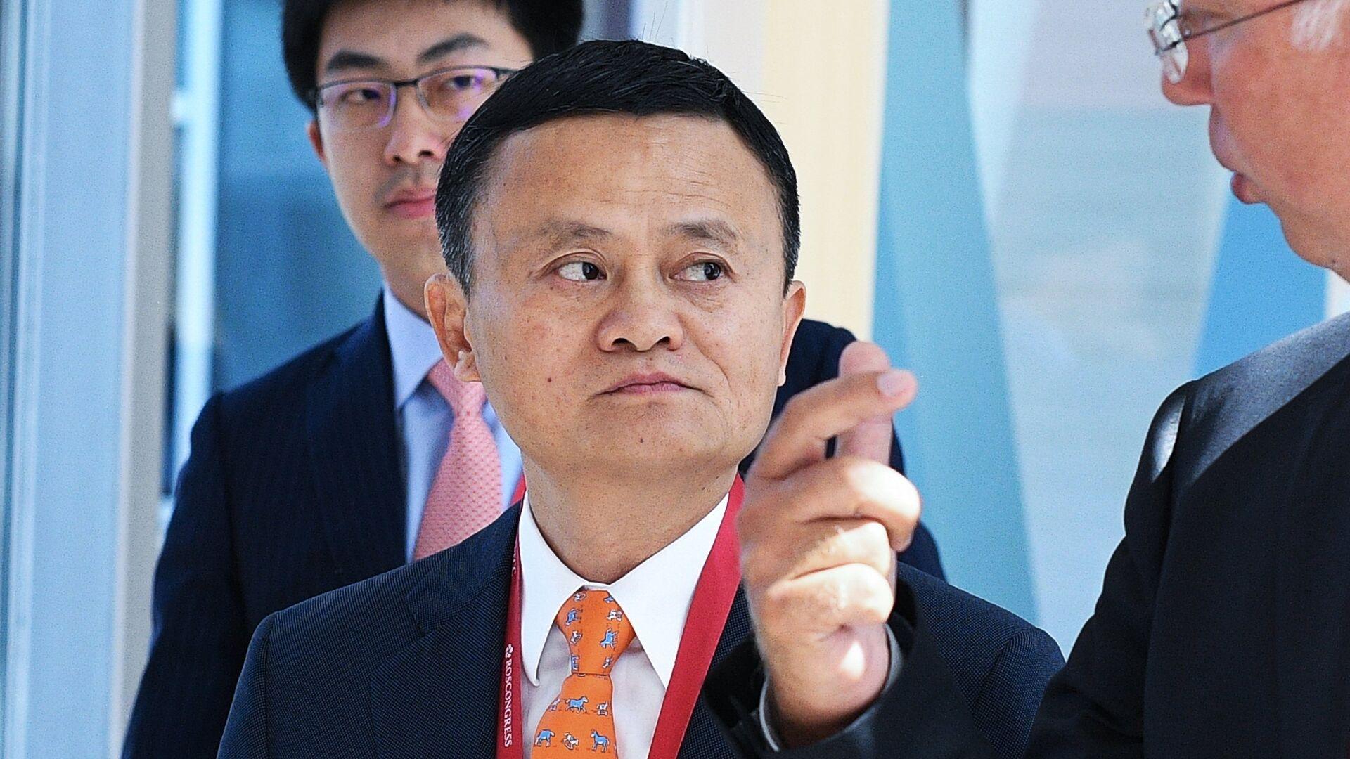 Jack Ma, fundador de Alibaba - Sputnik Mundo, 1920, 27.03.2021