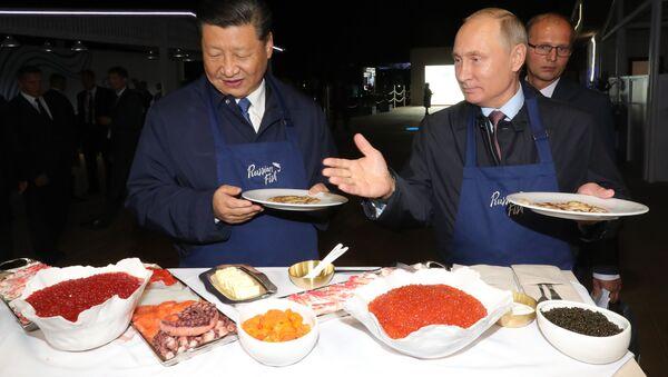 El Foro Económico Oriental, sin corbata: caviar y hospitalidad rusa - Sputnik Mundo
