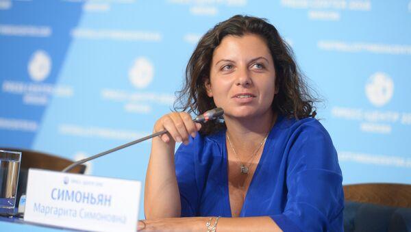 Margarita Simonián, la directora de Sputnik y RT - Sputnik Mundo