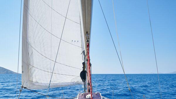 La vela de un barco - Sputnik Mundo