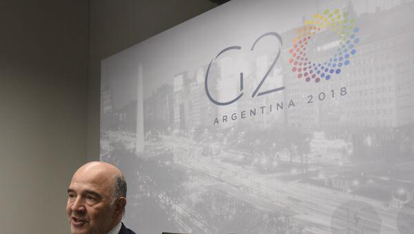 Logo del G20 (2018) - Sputnik Mundo