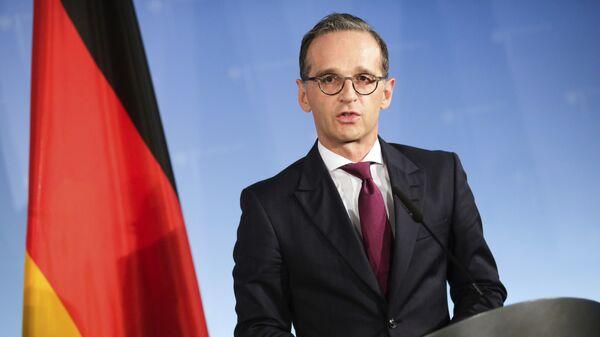 Heiko Maas, ministro de Exteriores de Alemania - Sputnik Mundo