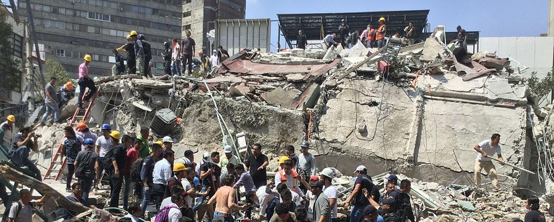Terremoto de 2017 en México - Sputnik Mundo, 1920, 19.09.2019