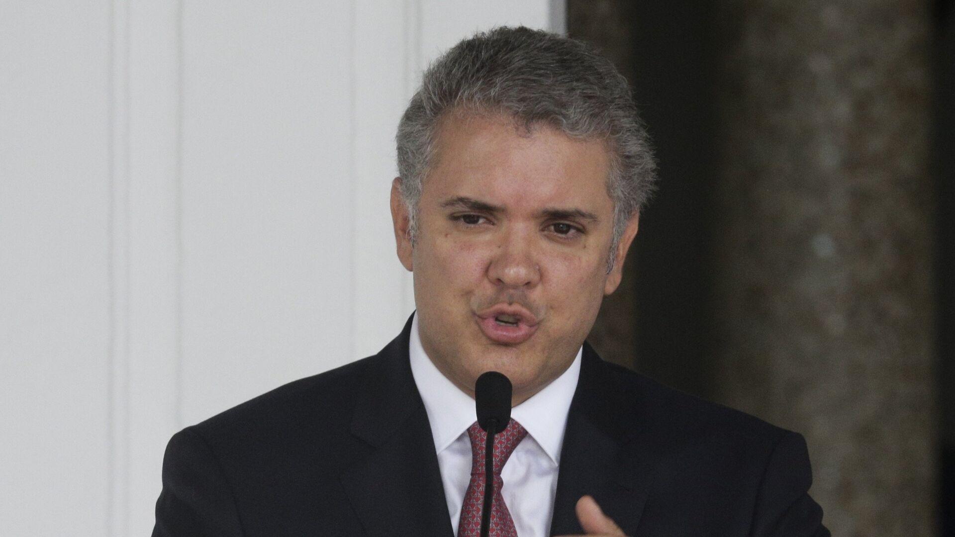 Iván Duque, presidente de Colombia - Sputnik Mundo, 1920, 28.09.2021