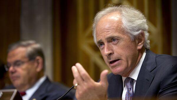 Robert Corker, presidente del Comité de Relaciones Exteriores del Senado de EEUU - Sputnik Mundo