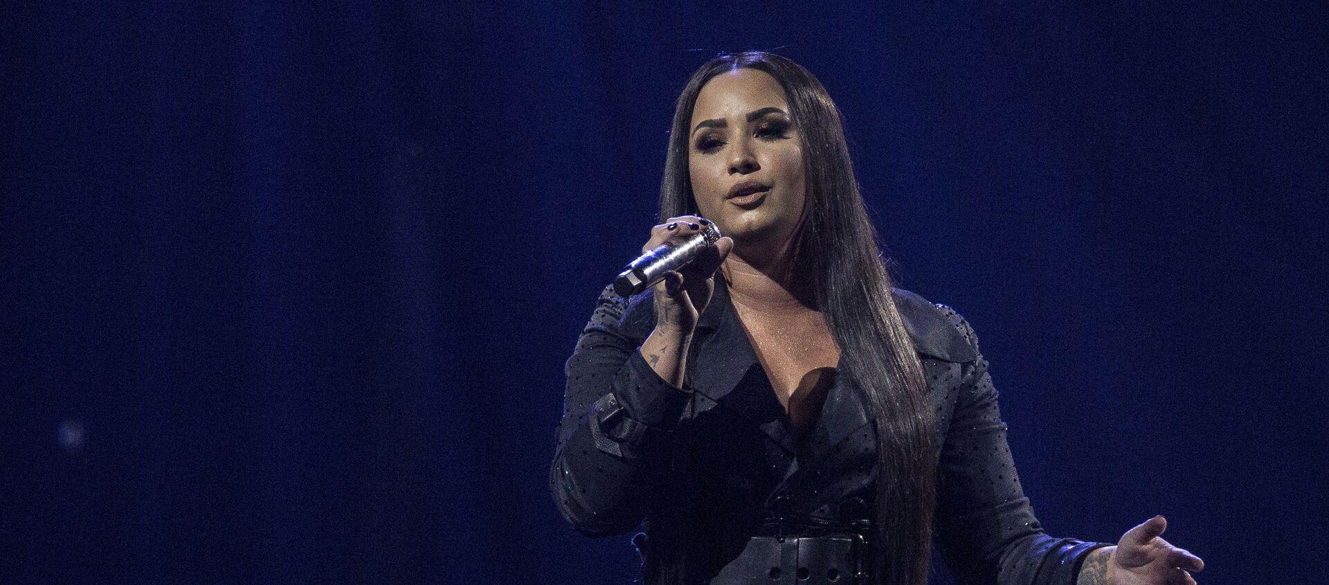 Demi Lovato, cantante estadounidense - Sputnik Mundo, 1920, 20.09.2018