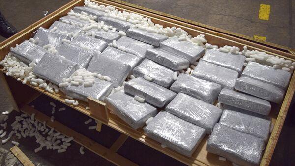 Un cargamento de drogas (archivo) - Sputnik Mundo