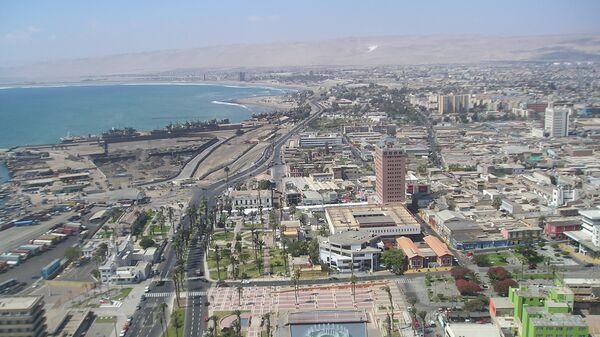 La ciudad puerto de Arica, Chile - Sputnik Mundo