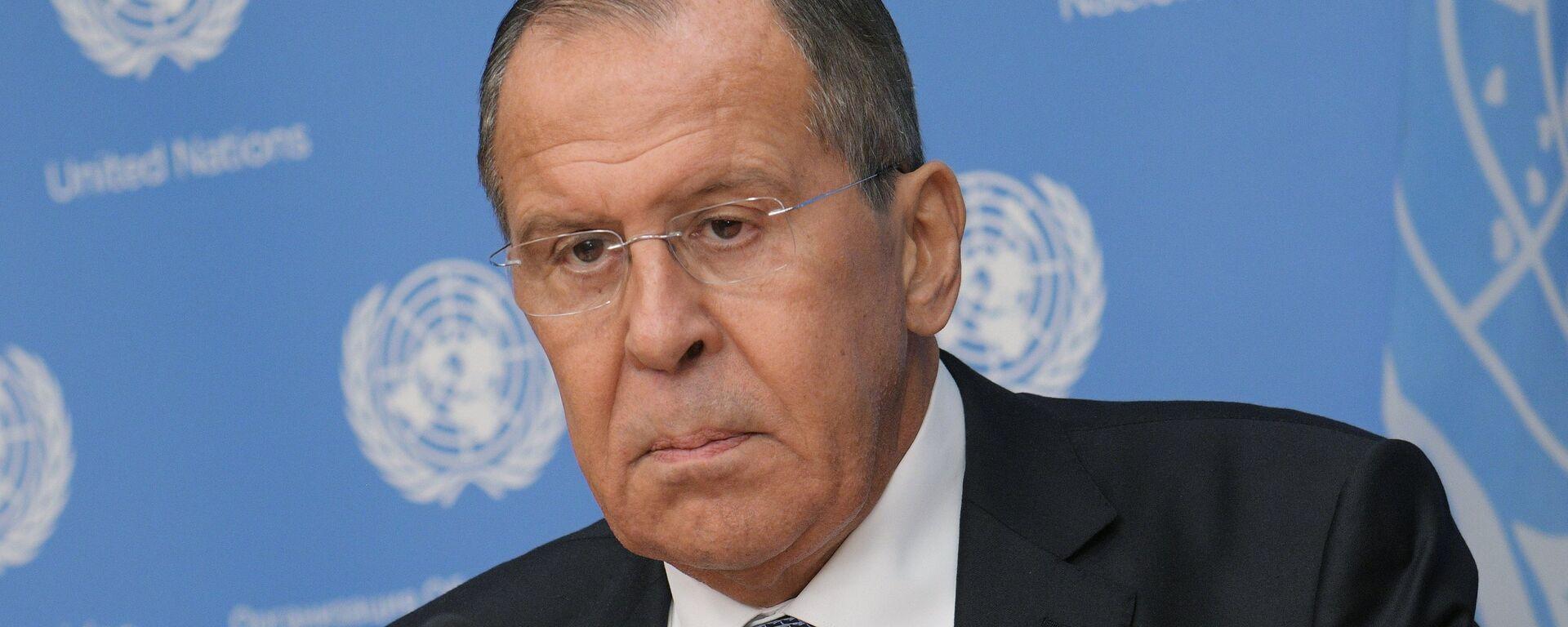 Serguéi Lavrov, ministro de Exteriores de Rusia - Sputnik Mundo, 1920, 26.11.2018
