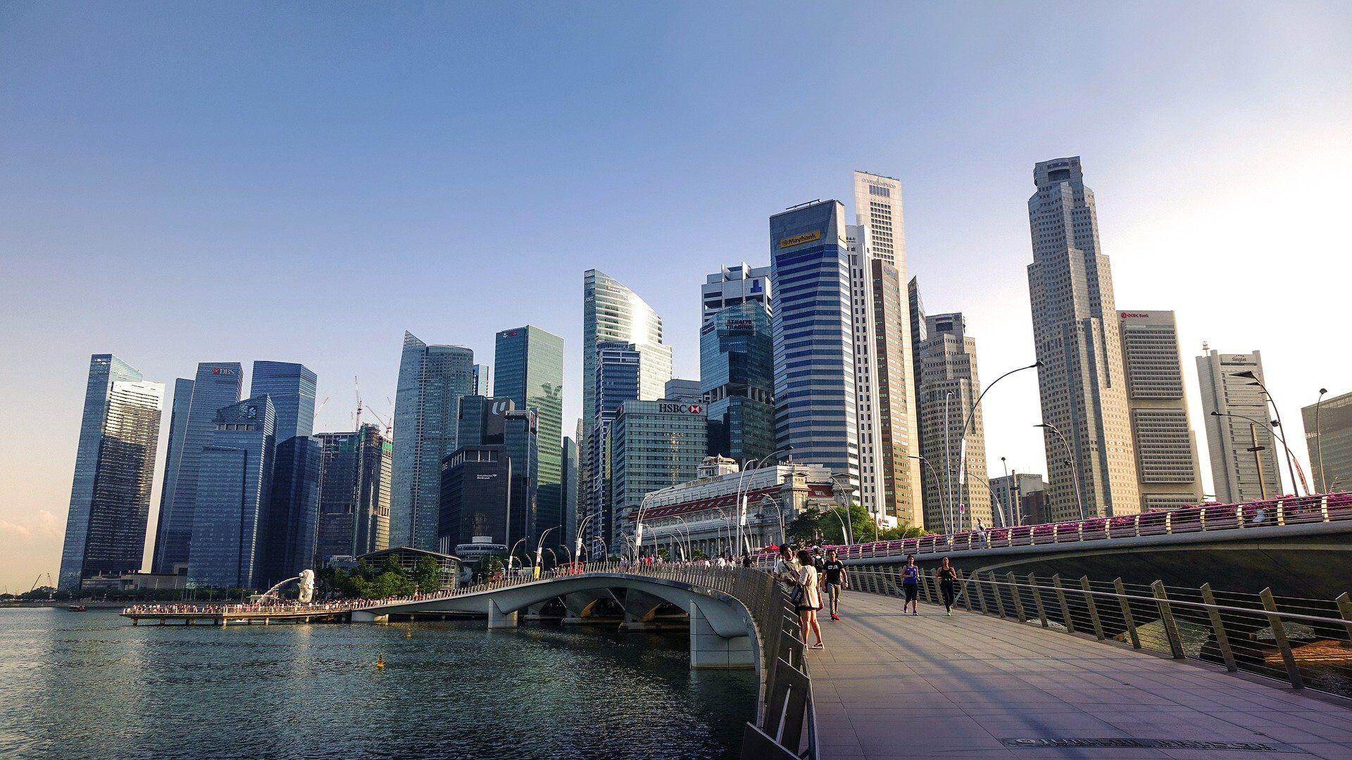 La ciudad de Singapur - Sputnik Mundo, 1920, 09.08.2021