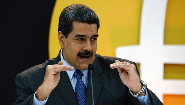 Nicolas Maduro, presidente de Venezuela - Sputnik Mundo
