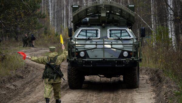 El vehículo de desminado a distancia Listva - Sputnik Mundo