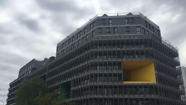 Edificios construidos para albergar a los atletas de los Juegos Olímpicos de la Juventud que tendrán lugar en Buenos Aires - Sputnik Mundo