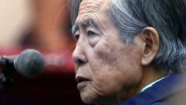 Alberto Fujimori - Sputnik Mundo