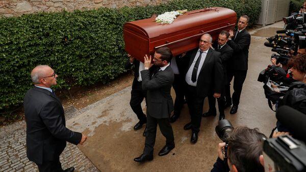 El funeral de la soprano Montserrat Caballé - Sputnik Mundo