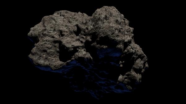 Un meteorito (imagen referencial) - Sputnik Mundo