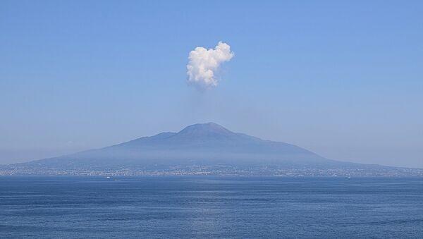 El volcán Vesubio - Sputnik Mundo