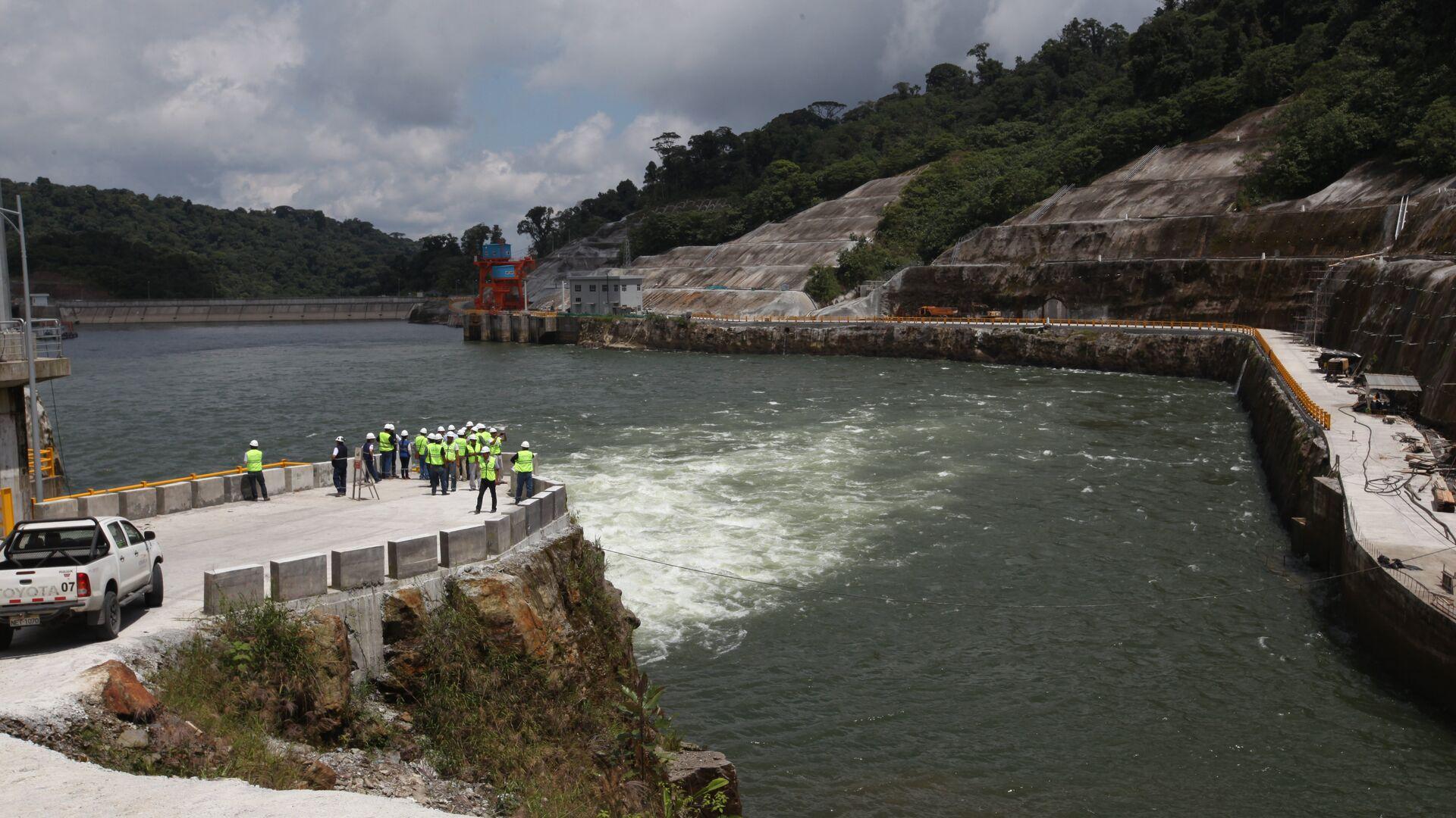 La central hidroeléctrica ecuatoriana Coca Codo Sinclair - Sputnik Mundo, 1920, 05.10.2021