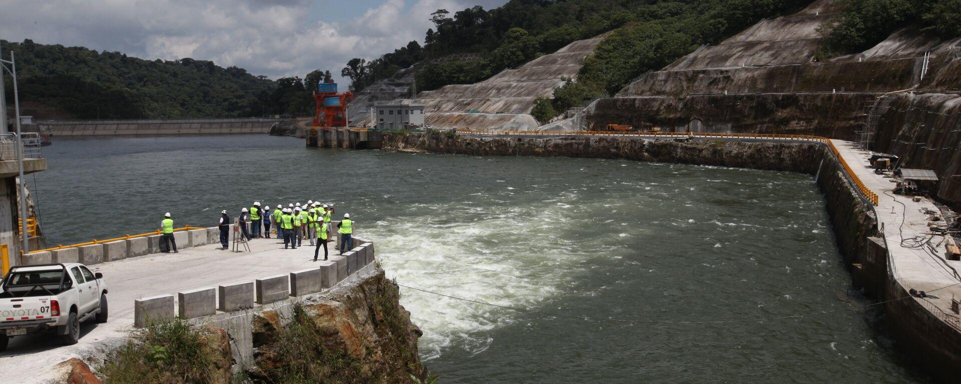 La central hidroeléctrica ecuatoriana Coca Codo Sinclair - Sputnik Mundo, 1920, 25.09.2021