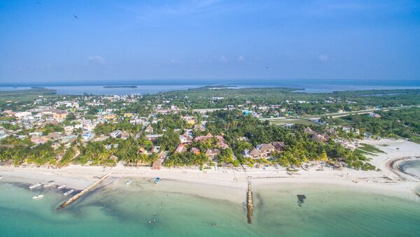 Isla Holbox en Caribe mexicano - Sputnik Mundo