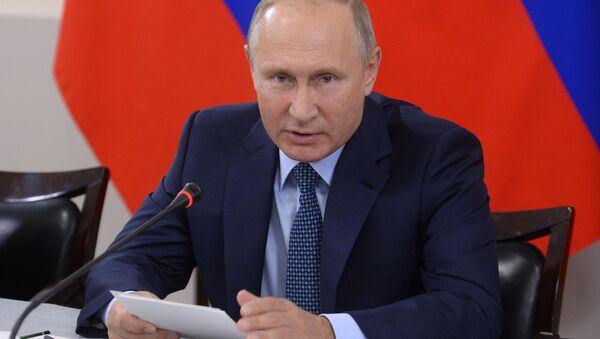 Vladímir Putin, presidente ruso - Sputnik Mundo