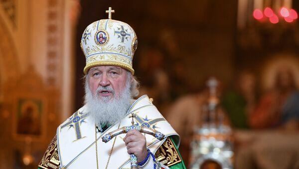 El patriarca de Moscú y de toda Rusia, Kiril - Sputnik Mundo
