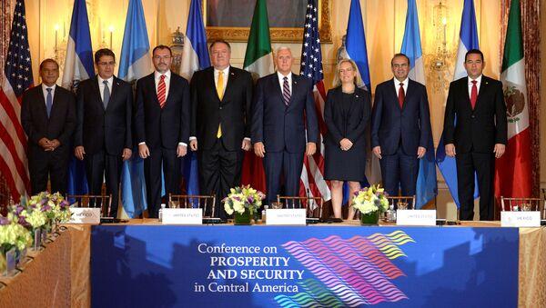 Conferencia sobre Prosperidad y Seguridad (Washington) - Sputnik Mundo