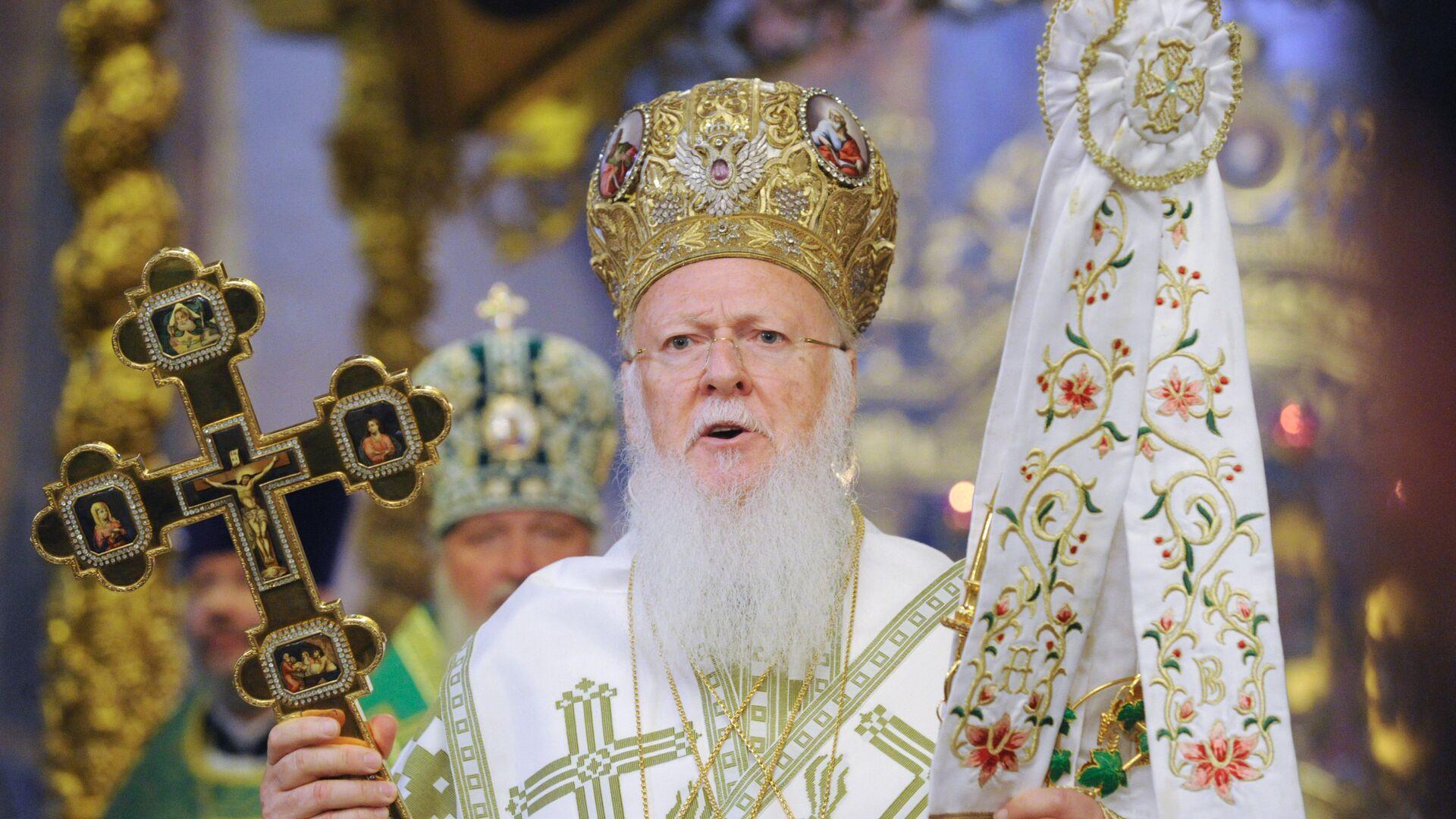 Bartolomé, el patriarca de Constantinopla - Sputnik Mundo, 1920, 28.07.2021