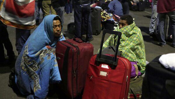 Migrantes venezolanos en Ecuador (Archivo) - Sputnik Mundo
