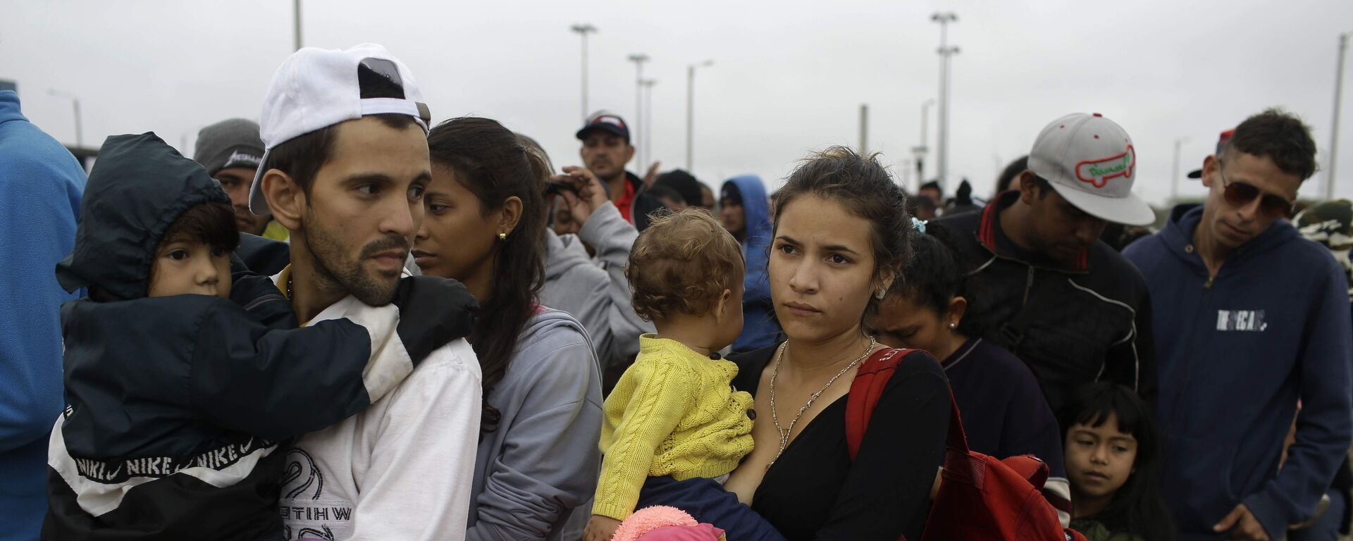 Migrantes venezolanos en Colombia (Archivo) - Sputnik Mundo, 1920, 01.03.2021