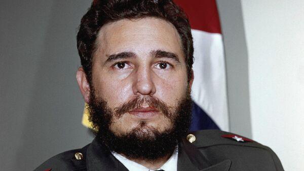 Fidel Castro, lider cubano - Sputnik Mundo