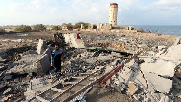 Situación en Gaza tras el ataque israelí - Sputnik Mundo