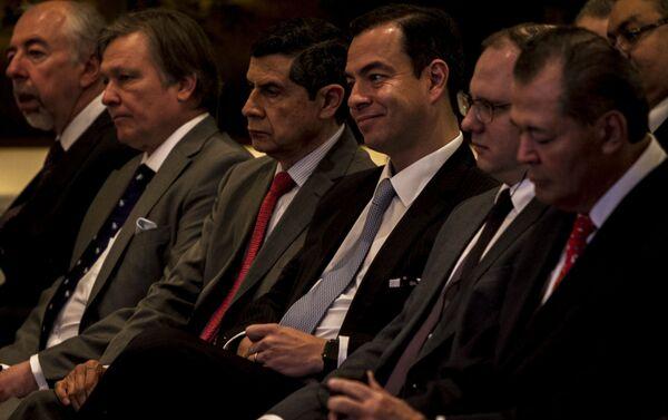 Paulo Carreño, director general de Pro-México, durante la misión empresarial en México del Centro Ruso de Exportaciones - Sputnik Mundo