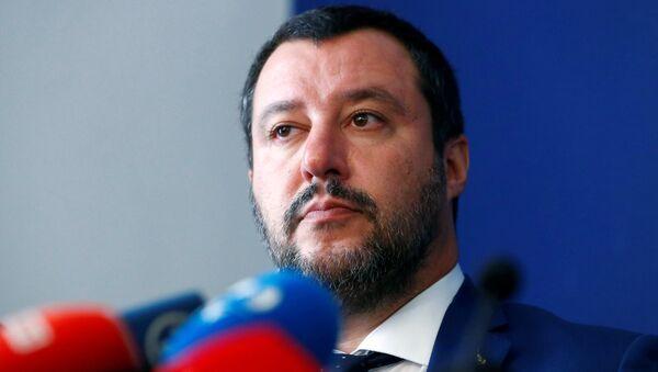 Matteo Salvini, ministro del Interior italiano - Sputnik Mundo