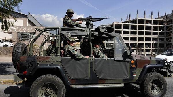 Militares de Ecuador (Archivo) - Sputnik Mundo