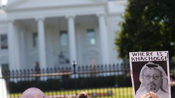 La foto del periodista desaparecido Jamal Khashoggi - Sputnik Mundo