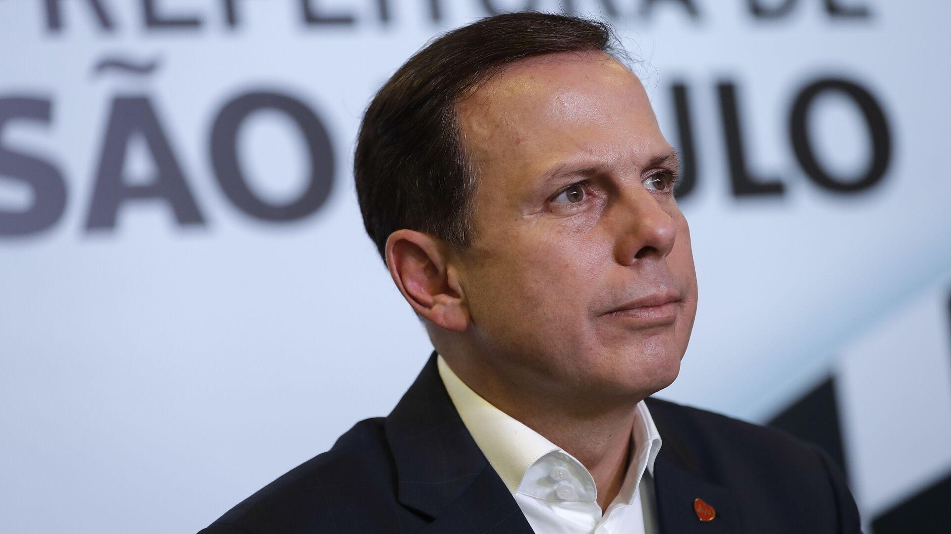 Joao Doria, gobernador del estado de Sao Paulo - Sputnik Mundo, 1920, 06.10.2021