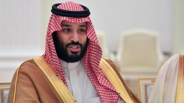 Mohamed bin Salman, príncipe heredero de Arabia Saudí (archivo) - Sputnik Mundo
