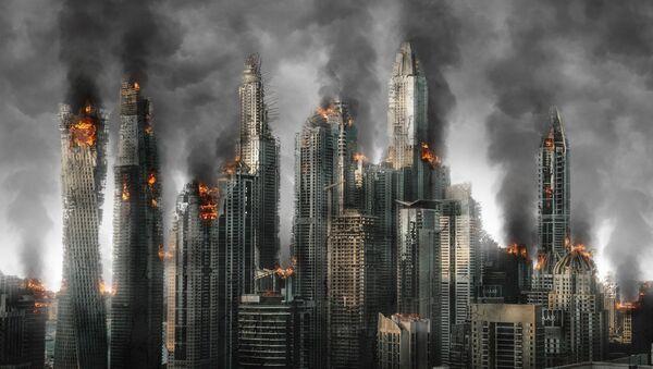 Una ciudad destruida (imagen referencial) - Sputnik Mundo