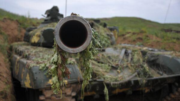 Tanque T-64 (archivo) - Sputnik Mundo