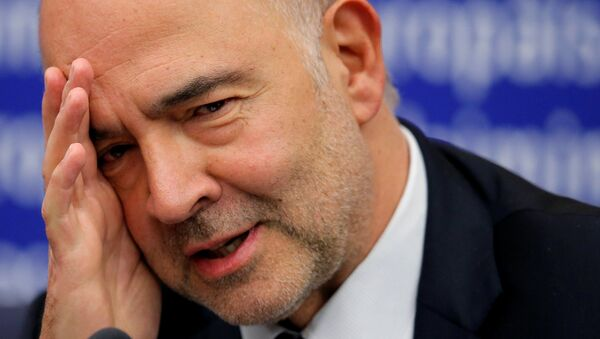Pierre Moscovici, el comisario europeo de Asuntos Económicos - Sputnik Mundo
