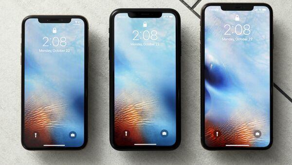 iPhone XS, iPhone XR y iPhone XS Max - Sputnik Mundo