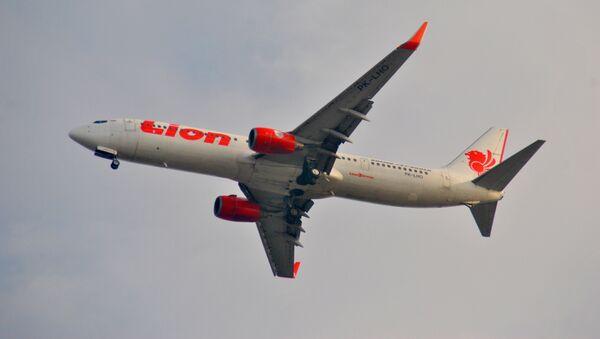 Un Boeing 737 de la aerolínea indonesia Lion Air (archivo) - Sputnik Mundo