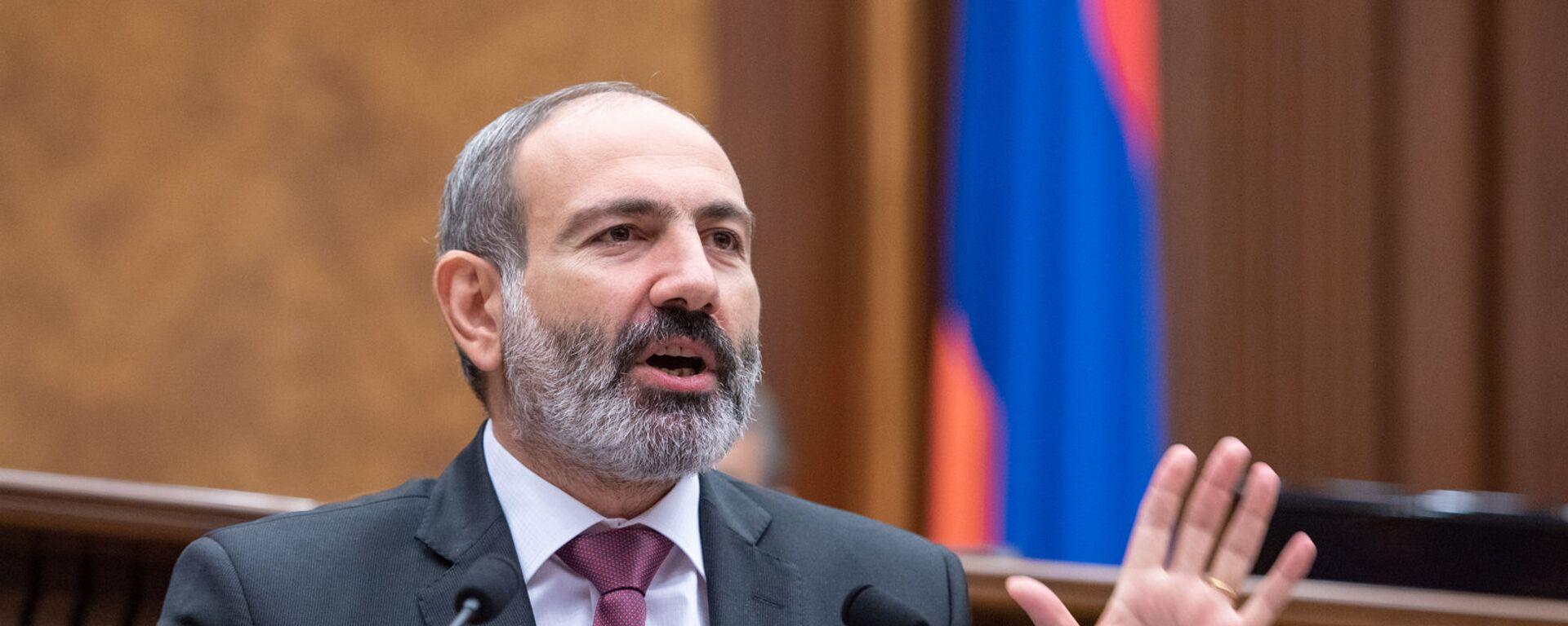 Nikol Pashinián, primer ministro de Armenia - Sputnik Mundo, 1920, 12.08.2021