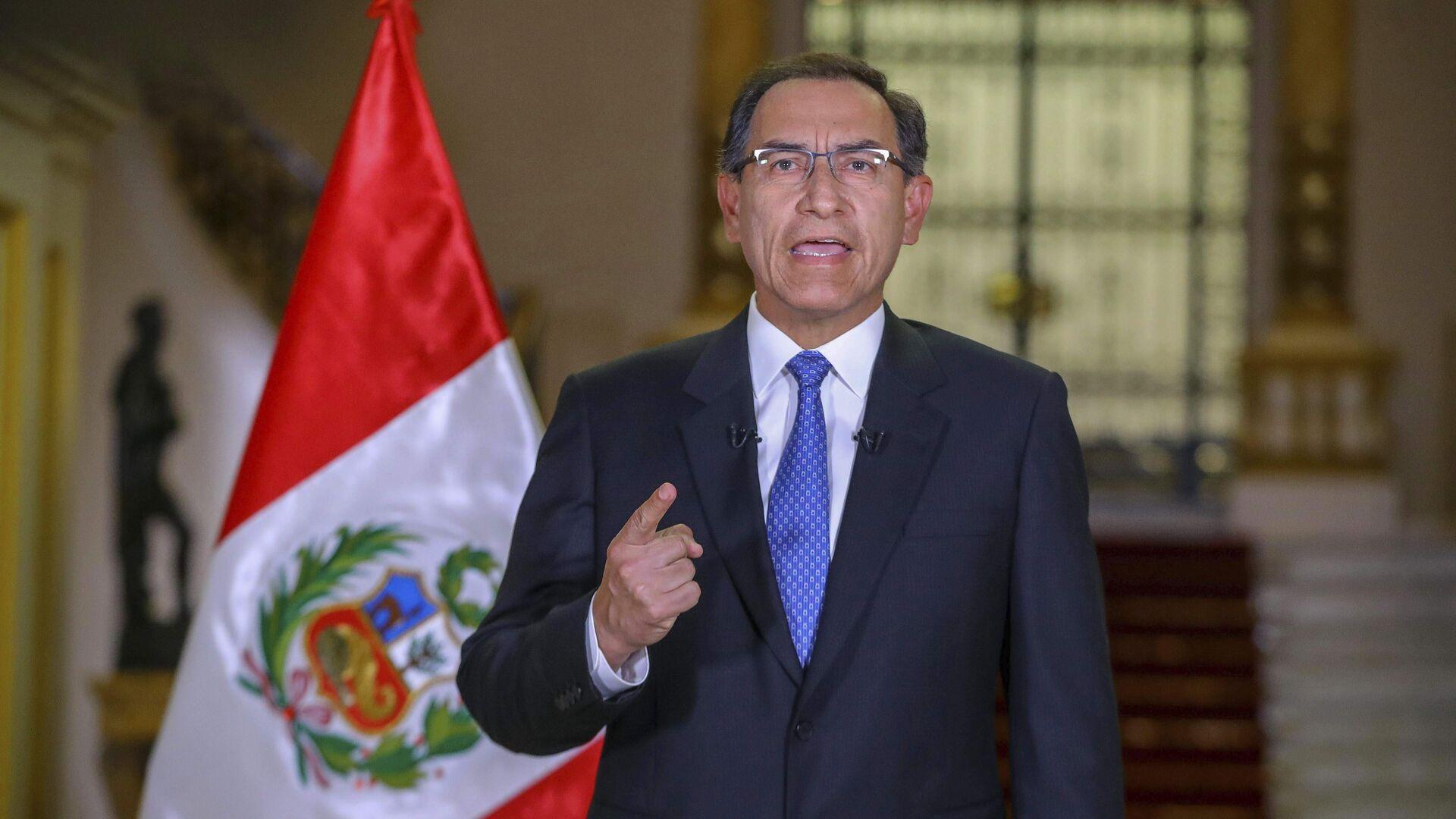 Martín Vizcarra, expresidente de Perú - Sputnik Mundo, 1920, 23.02.2021